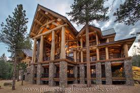 majestic looking log home house plans durham 1 view pioneer homes