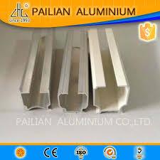 Aluminum Curtain Rod Customized Aluminum Curtain Track 6063 White Powder Coating
