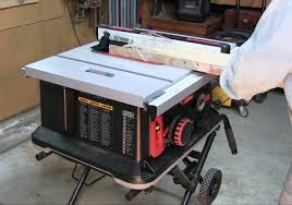 Job Site Table Saw Tested Sawstop Jobsite Table Saw Tools Of The Trade Table Saws