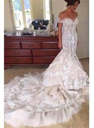the shoulder wedding dress new high quality trumpet mermaid wedding dresses buy popular