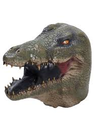 Alligator Halloween Costume Toddler Deluxe Alligator Latex Mask