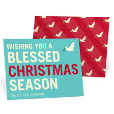religious christmas cards custom designs from pear tree