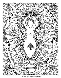 88 best images about fantasy and pagan colouring coloring
