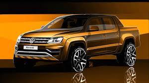 volkswagen amarok lifted 2017 volkswagen amarok facelift previewed performancedrive
