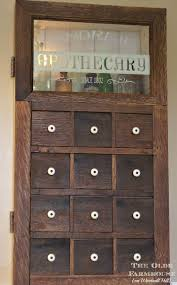 the olde farmhouse on windmill hill apothecary medicine cabinet