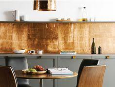 stunning copper backsplash for modern kitchens copper backsplash