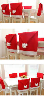 santa chair covers 15 best christmas decor for household 3 diy santa hat chair