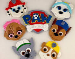 paw patrol birthday cake toppers google paw patrol
