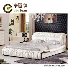 Modern Bedroom Furniture For Sale by New Sale Leather Bed Leather Bed Double Bed Modern Bedroom