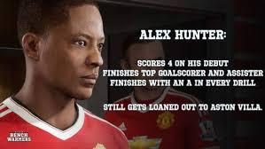 Hunter Meme - soccer memes alex hunter on fifa 17 facebook