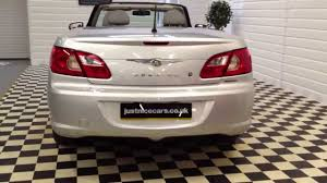 2009 09 chrysler sebring 2 0 crd limited convertible sorry now
