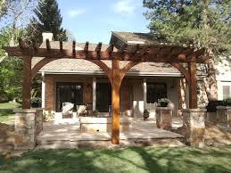 Flagstone Patio With Pergola Parker Douglas County Colorado Landscape Design Specialists