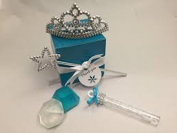 Tiara And Wand Favor by Frozen Favor Tiara Wand Bubbles And Soap Favor Set