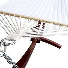 gym equipment cypress wooden arc hammock stand with hammock