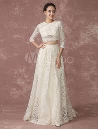 brautkleider mit ã rmel aus spitze crop top spitze hochzeitskleid rückendesign taschen brautkleid