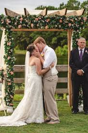 wedding arbor used 15 wonderful wedding canopy arch ideas