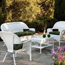 Real Wicker Patio Furniture - white wicker patio furniture creation treatment white wicker