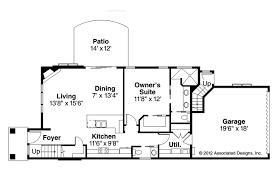 contemporary house plans stinson 30 891 associated designs