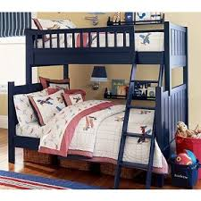 Camp TwinOverFull Bunk Bed Pottery Barn Kids Polyvore - Pottery barn kids bunk bed