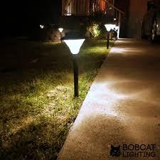 Brightest Solar Powered Landscape Lights - 2 pack super bright solar path lights 60 lumens led solar