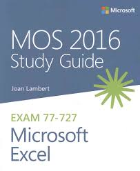 mos 2016 study guide for microsoft excel by joan lambert wordery com