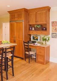 Kitchen Desk Design Custom Office Cabinets Office Cabinetry Office Cabinets