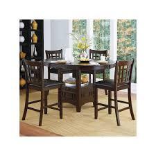 Tahoe 5 Piece Patio Dining Set - homevance verona 5 piece counter height dining set brown verona