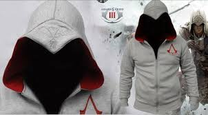 Connor Halloween Costume Assassin U0027s Creed Recon Jacket Hoodie Pullover Everyday Geek