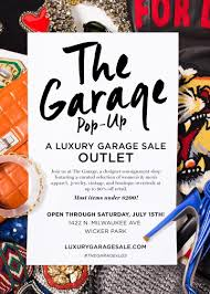 the garage pop up in chicago at wicker park
