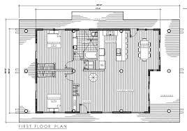 Floor Framing Plan Timber Frame Modern 3 Plan