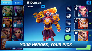planet heroes u2013 action moba 1 11 mod android full apk download