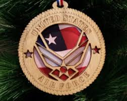 military ornaments etsy