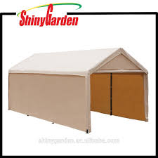Car Carport Canopy 10x20ft Heavy Duty Beige Carport Car Canopy Versatile Shelter With