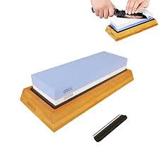 whetstone for kitchen knives premium knife sharpening kit 2 side 1000 6000 grit