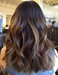 medium length hair with ombre highlights top 20 best balayage hairstyles for natural brown black hair