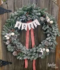 how to flock a wreath twelveoeight