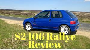 used peugeot 106 1998 peugeot 106 rallye s2 review youtube