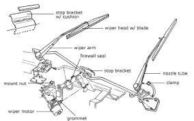 diagram of wiper motor workshop pinterest motors