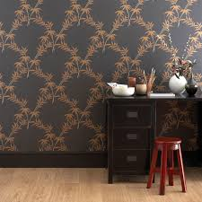 traditional wallpaper silk floral trellis bamboo series