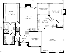 House Plans With Keeping Rooms Crestwood Place Frank Betz Associates Inc Southern Living