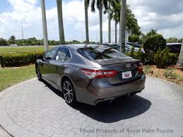 toyota camry trunk 2018 new toyota camry se automatic at royal palm toyota serving