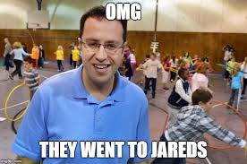 He Went To Jared Meme - he went to jareds imgflip