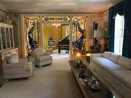 billiard room in basement picture of graceland memphis