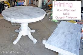 Oak Dining Room Table Sets A Bubbly Lifehow To Paint A Dining Room Table U0026 Chairs Makeover