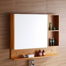 Wooden Mirrored Bathroom Cabinets Usd 210 42 Bathroom Mirror Cabinet Oak Bathroom Mirror Bathroom