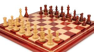 british staunton chess set in african padauk u0026 boxwood with