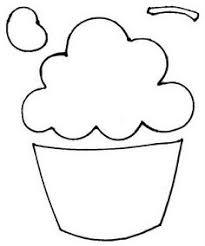 cupcake template cupcake compounds education pinterest