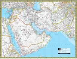 Southwest Asia North Africa Map by Southwestern Asia Atlas Maps