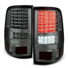 2004 f150 tail lights xtune 2004 2008 ford f150 styleside led tail lights w led signal