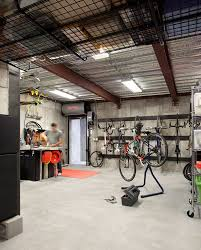 garage exciting garage interior design with music studio corner full size of garage hose reel cart garage and shed contemporary with bicycles ceiling lighting concrete